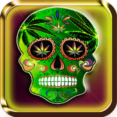 Skull Weed Live Wallpaper icon