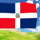 Dominican Flag Live Wallpaper icon