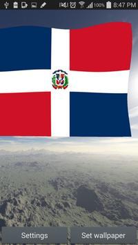 Dominican Flag Live Wallpaper apk screenshot