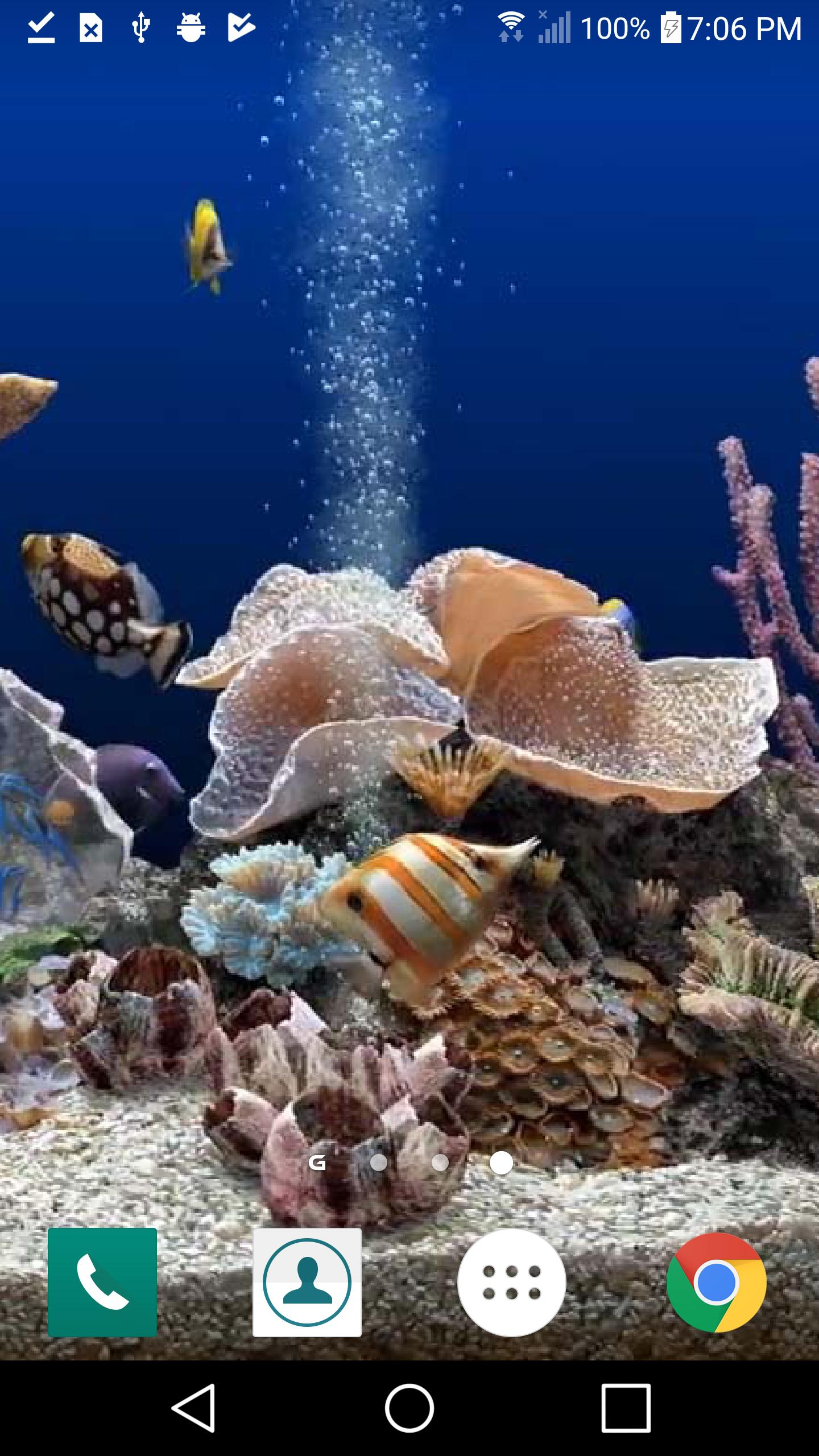 Aquarium Live Wallpaper Hd 3d For Samsung Galaxy For