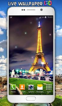 Paris Live Wallpaper poster