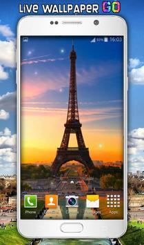 Paris Live Wallpaper apk screenshot