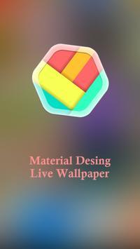 Material Design Live Wallpaper poster