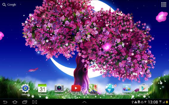 Cherry Blossom Live Wallpaper screenshot 3