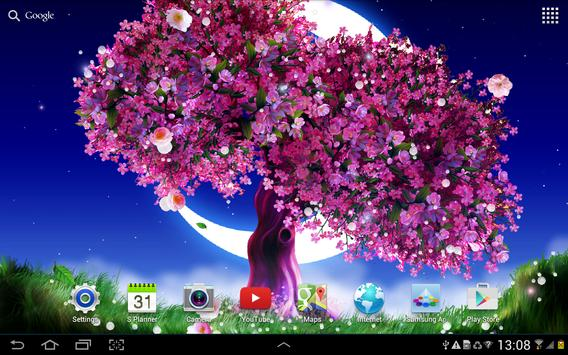 Cherry Blossom Live Wallpaper screenshot 4