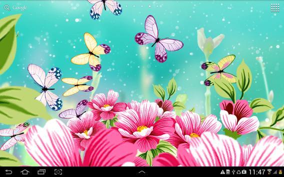 Flowers Wallpaper screenshot 7