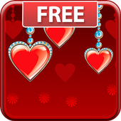 3D Hearts Live Wallpaper Free icon