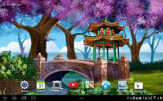 Magic Garden Live Wallpaper screenshot 3