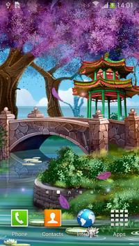Magic Garden Live Wallpaper poster