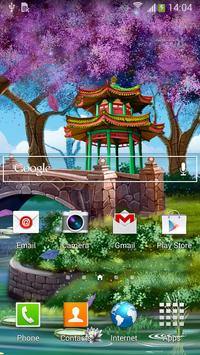 Magic Garden Live Wallpaper screenshot 2
