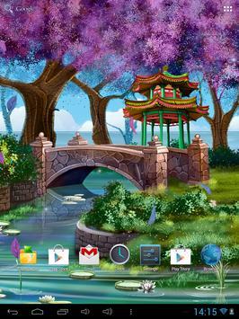 Magic Garden Live Wallpaper apk screenshot