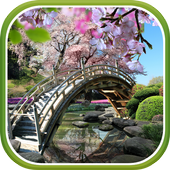 Sakura Garden Live Wallpaper icon