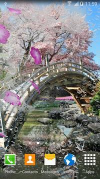 Sakura Garden Live Wallpaper apk screenshot