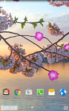 Sakura Garden Live Wallpaper screenshot 8