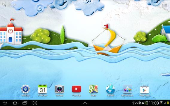 Paper World Live Wallpaper screenshot 3