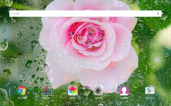 Rainy flowers live wallpaper apk download free personalization app rainy flowers live wallpaper apk screenshot thecheapjerseys Gallery