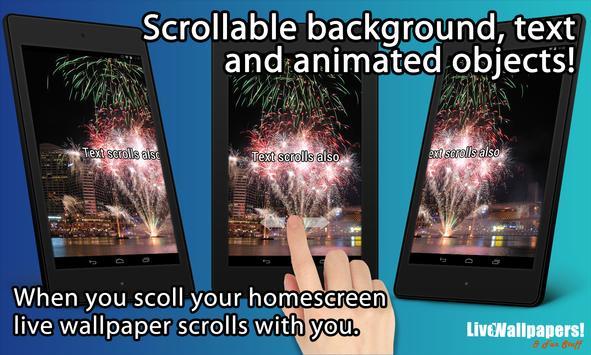 Fireworks Live Wallpaper screenshot 4