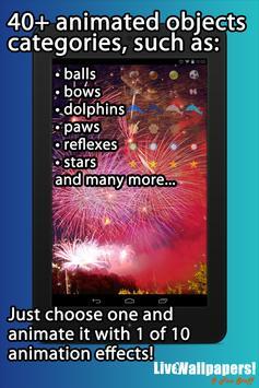 Fireworks Live Wallpaper screenshot 8