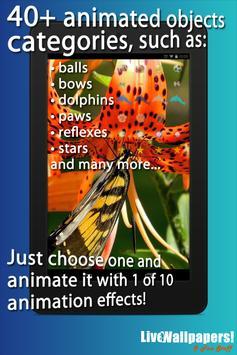Lilies Live Wallpaper apk screenshot
