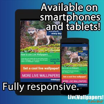 Wolves Live Wallpaper screenshot 17