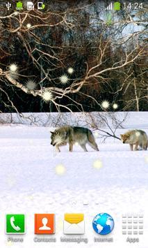 Wolf Live Wallpapers apk screenshot