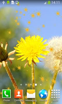 Dandelions Live Wallpapers apk screenshot