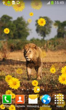 Lion Live Wallpapers apk screenshot