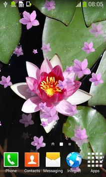 Lotus Live Wallpapers apk screenshot