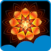Magic Flowers Live Wallpapers icon
