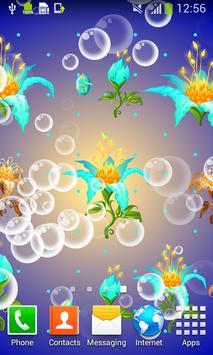Magic Flowers Live Wallpapers apk screenshot