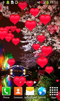 Sakura Live Wallpapers apk screenshot