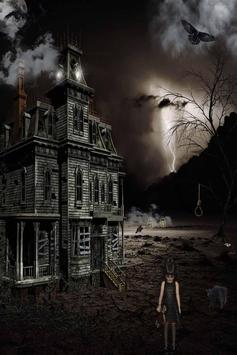 Haunted House Live Wallpaper screenshot 1