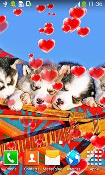 Cute Puppies Live Wallpapers screenshot 1