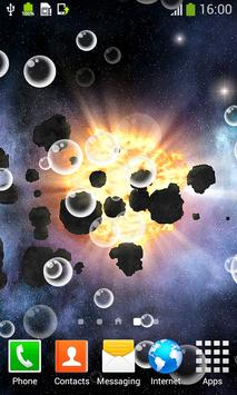 Asteroids Live Wallpapers screenshot 1