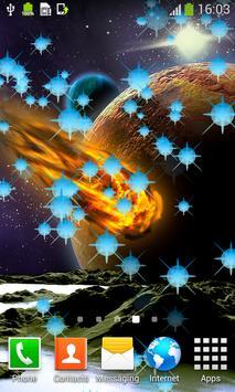 Asteroids Live Wallpapers apk screenshot