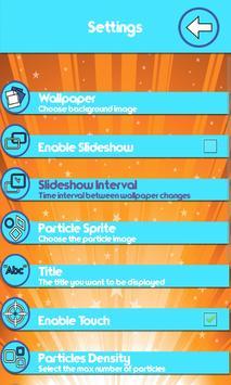 Glitter Live Wallpapers apk screenshot