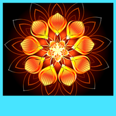 Glowing Flower Live Wallpapers icon