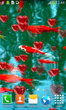 Koi Fish Live Wallpapers apk screenshot