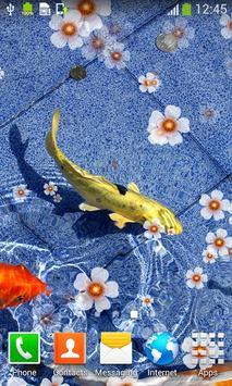 Koi Fish Live Wallpapers screenshot 3