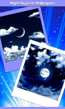 Night Sky Live Wallpapers poster