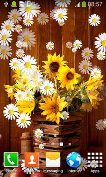 Sunflower Live Wallpapers apk screenshot