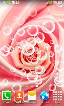 Pink Roses Live Wallpapers screenshot 1