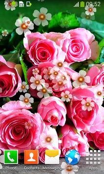 Pink Roses Live Wallpapers screenshot 5