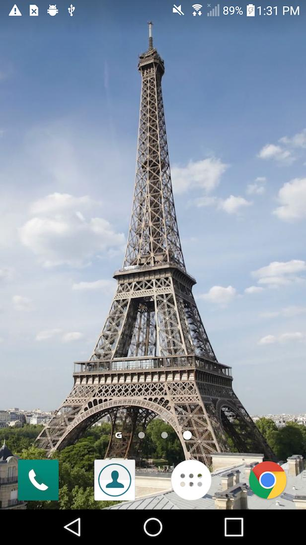 Eiffel Tower In Paris Live Wallpaper Hd For Android Apk Download