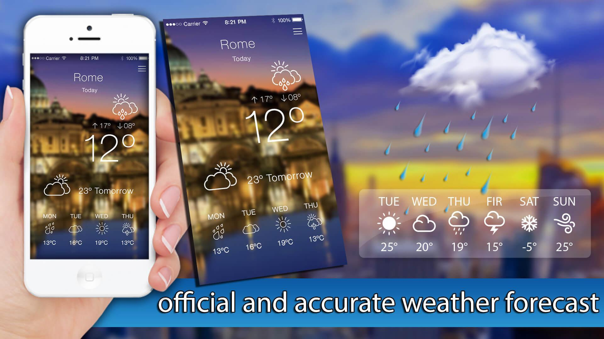 Weather Forecast - Local Weather Network 2018 for Android