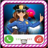 Fake Call - Kids Police icon