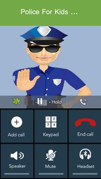 Fake Call - Kids Police screenshot 2