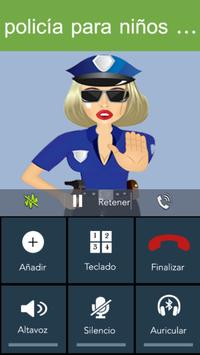 Fake Call - Kids Police screenshot 3