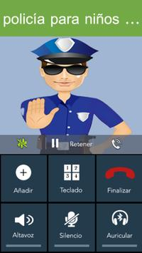 Fake Call - Kids Police screenshot 4