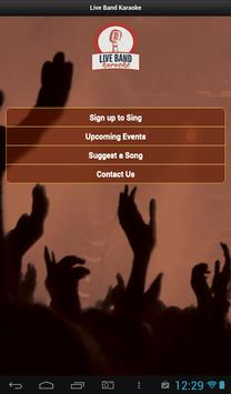 Live Band Karaoke by GCB screenshot 14
